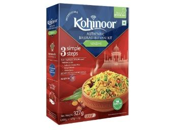 Kohinoor Authentic Basmati Biryani Kit, Sindhi, 327g at Rs. 99