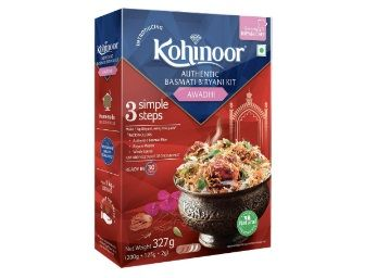 Kohinoor Authentic Basmati Biryani Kit, Awadhi, 327g at Rs. 99