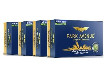 Park Avenue Good Morning Soap For Men, 125g (BUY 3 GET 1 FREE) at Rs. 88