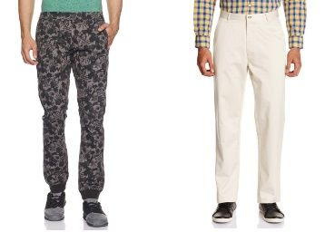 Top Brands Trousers From Rs. 479 + Free Shipping