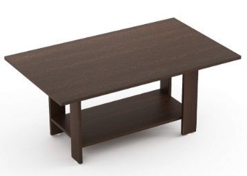 Bluewud Osnale Coffee Table (Wenge, Rectangular) at Rs.1949