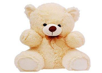 CLICK4DEAL Soft 2 Feet Long Teddy Bear - 60 Cm -Cream at Rs. 429