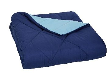 Rs. 150 Coupon - AmazonBasics Reversible Microfiber Comforter - Twin/Twin Extra-Long at Rs. 879