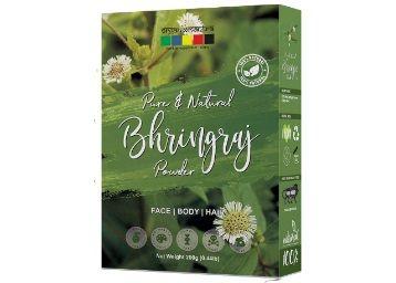 Organix Mantra Natural Bhringraj Powder for hair growth and conditioning 200 Grams (Eclipta Alba) at Rs. 199