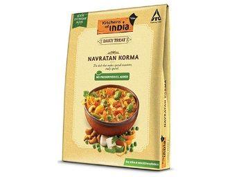 Kitchens of India, Daily Treat, Ready Navratan Korma, 285g at Rs. 72