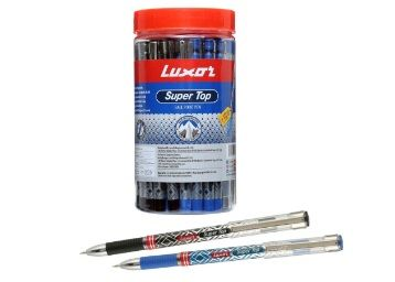 Flat 50% off on Luxor Super Top Ball Pen Red (10
