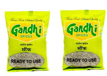 Gandhi Fennel Seeds(Saunf) 200g (100g x 2) at Rs. 50