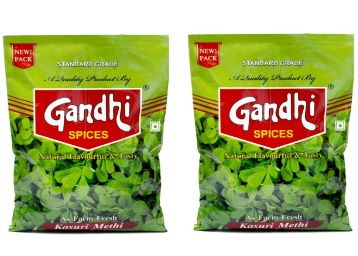 Gandhi Kasuri Methi 200g (100g x 2) at Rs. 90 + Free Shipping