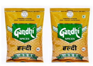 Gandhi Turmeric Powder(Haldi) 200g (100g x 2) at Rs. 50 + Free Shipping