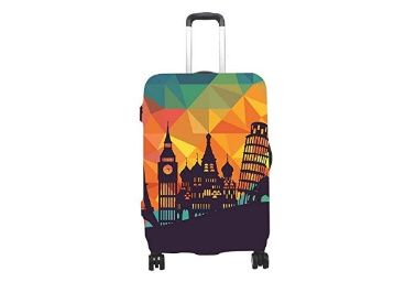 Handcuffs Multicolour PVC Waterproof Luggage Cover (Small 18 to 21-Inch) at Rs.899