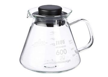 Iveo Borosilicate Glass 600 ml Caraffe 1 Pc at Rs. 412