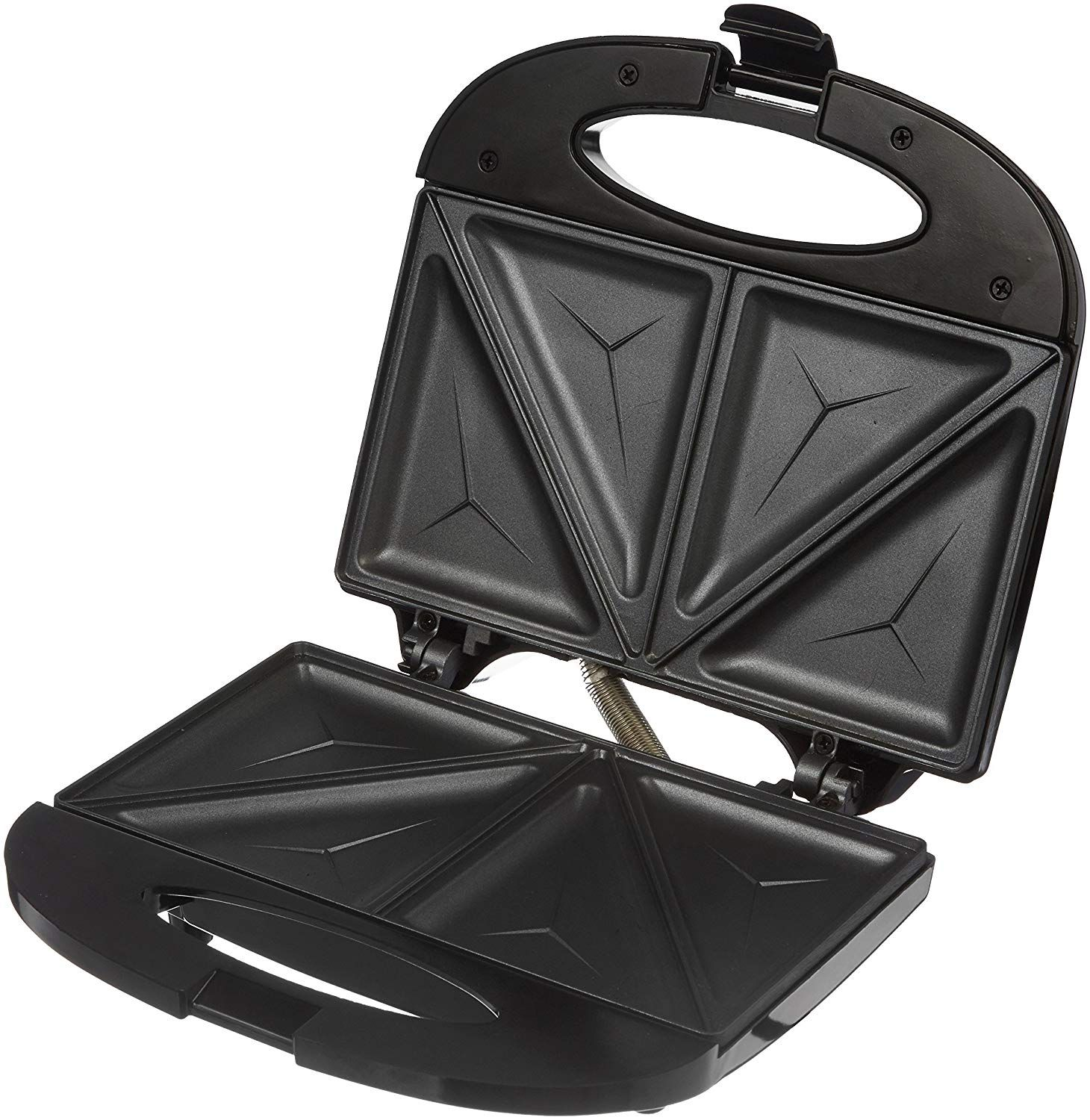 Amazon Brand - Solimo Non-Stick Sandwich Maker (750 watt, Black) at Rs. 899