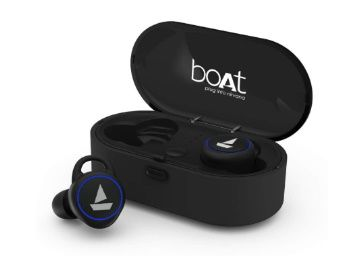 Flat 71% off on boAt Airdopes 311v2 True Wireless Earbuds (Bluetooth V5.0) with HD Sound and Sleek Design at Rs.1999
