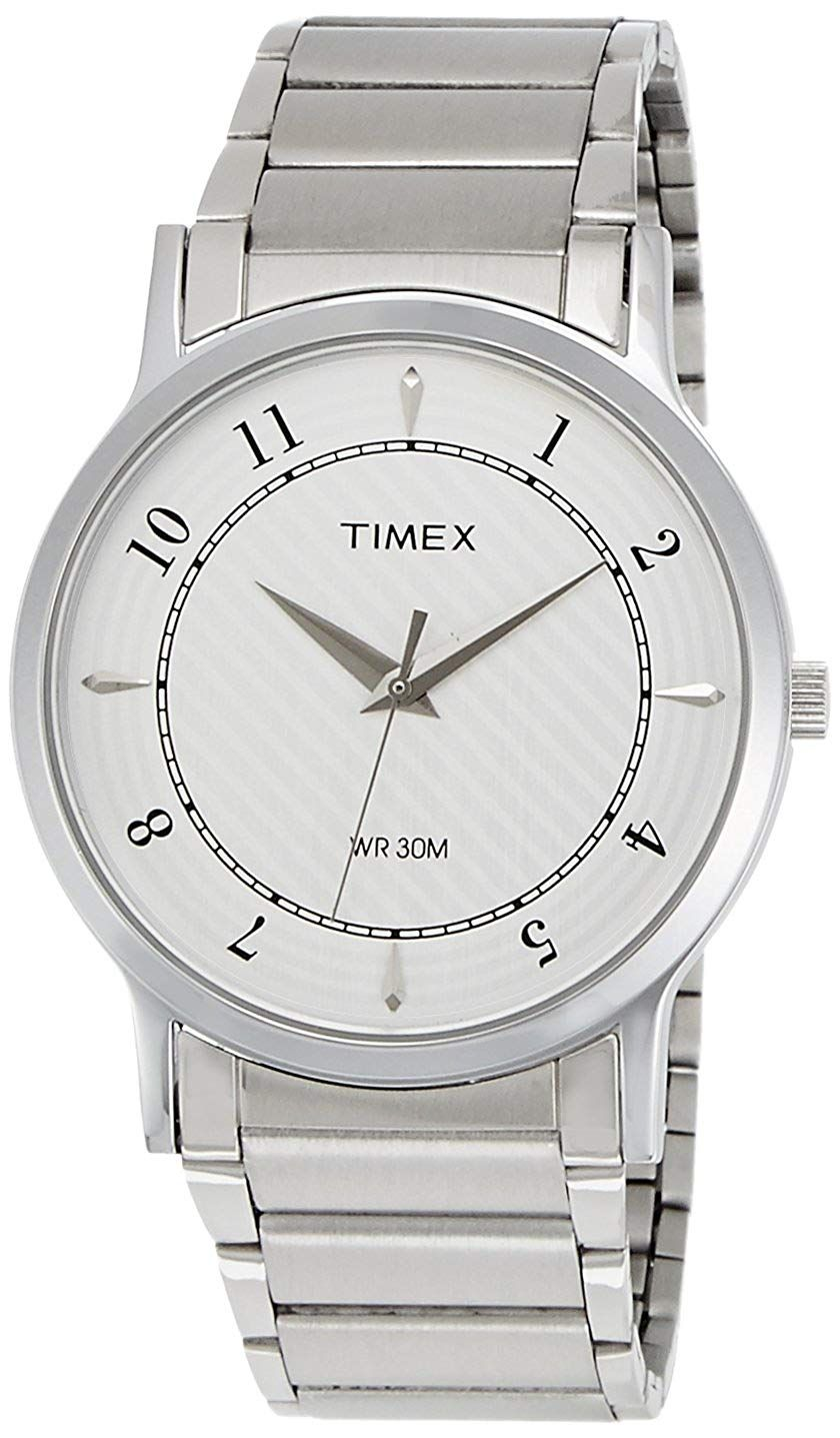 Timex Classics Analog Silver Dial Men