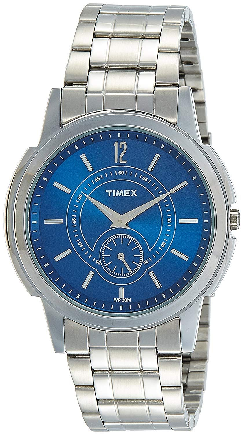 Timex Empera Analog Blue Dial Men