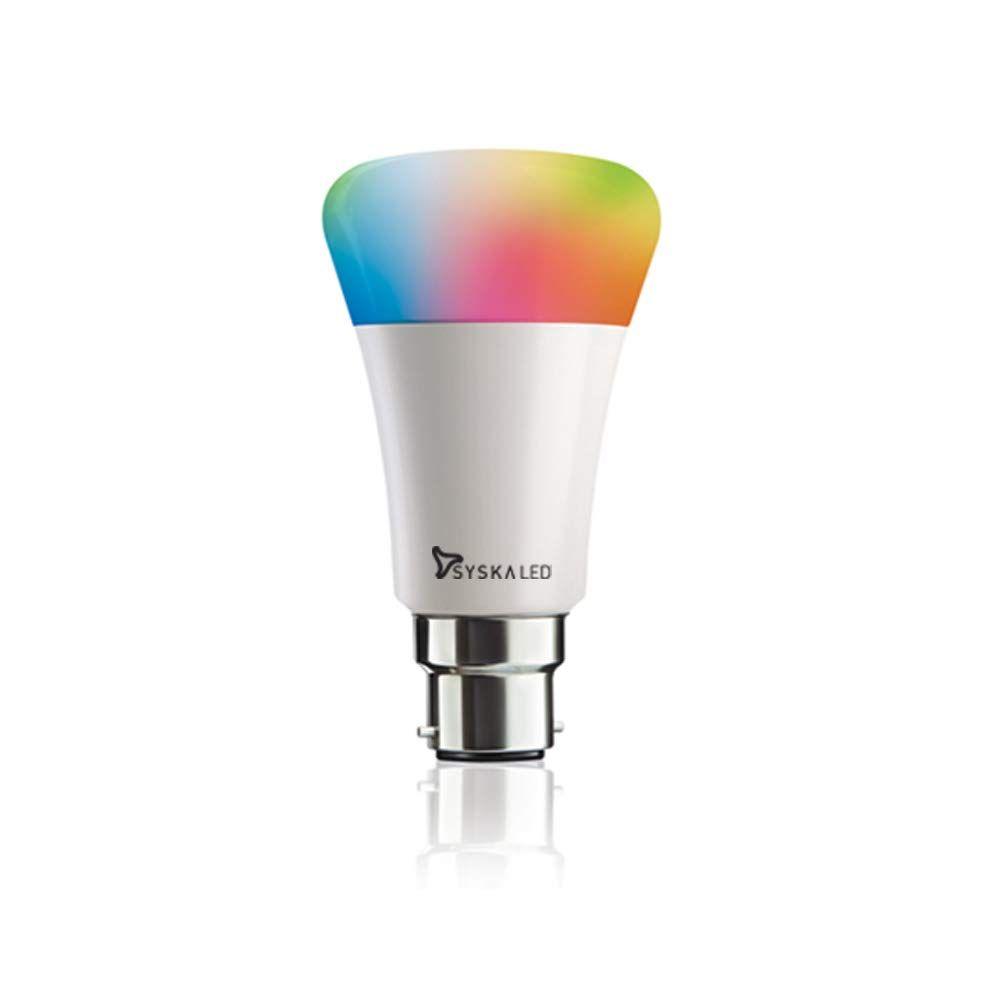 Syska 9-Watt Smart LED Bulb Compatible with Amazon Alexa