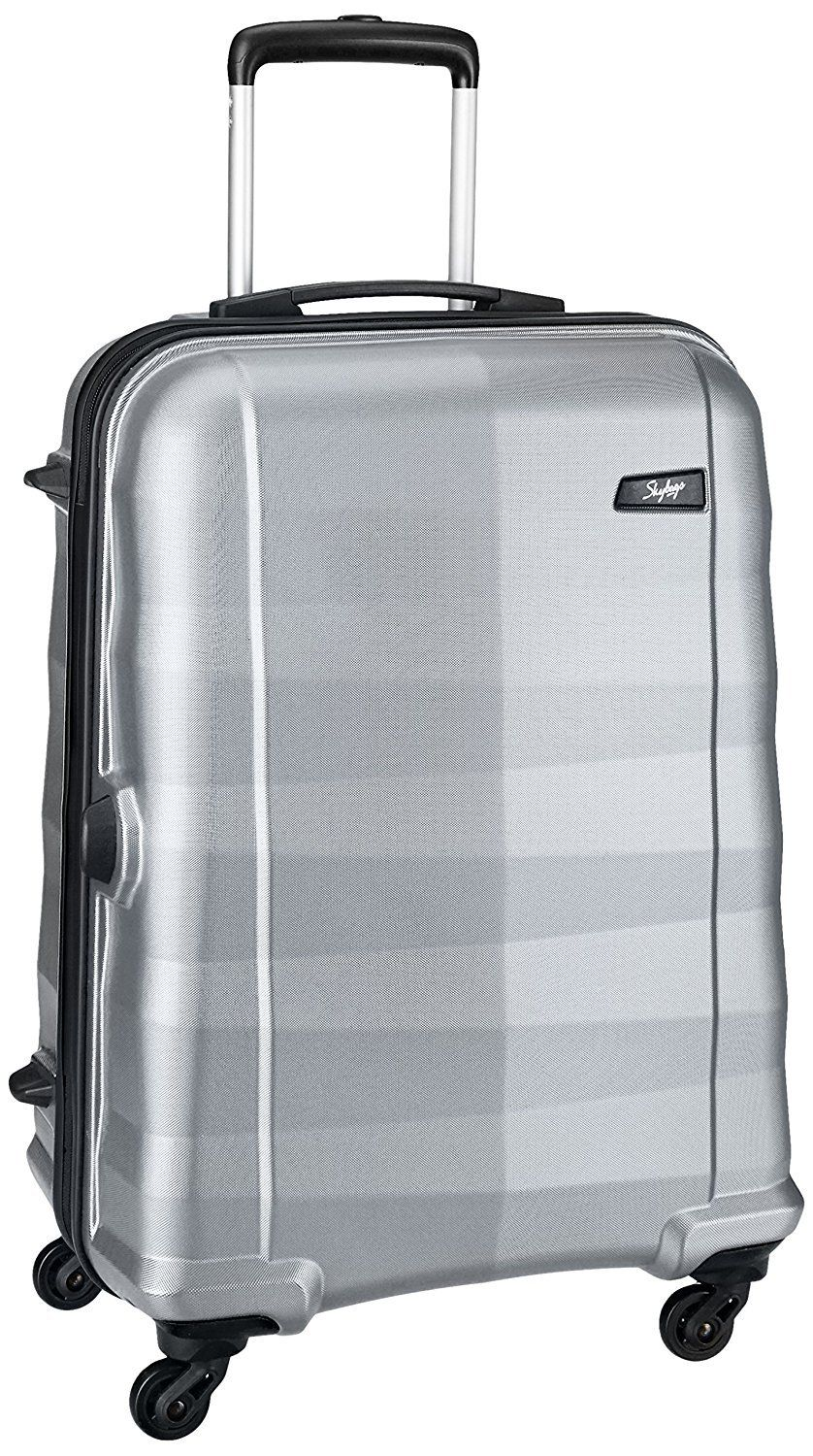 Skybags Auckland 56 cms Silver Hardsided Carry-On