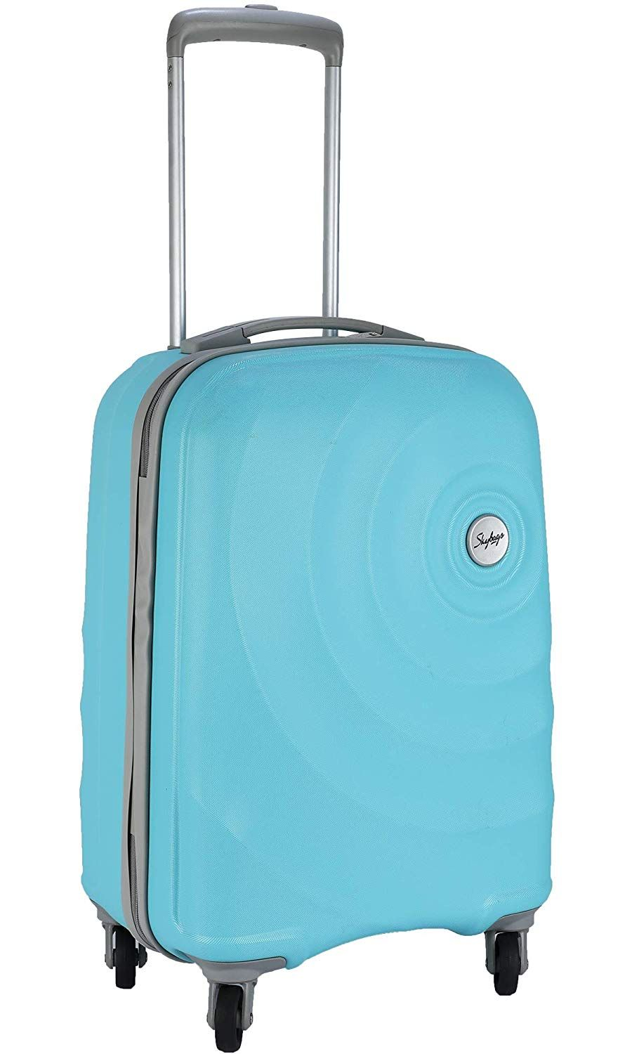 Skybags Mint 55 cms Polycarbonate Turquoise Hardsided Cabin Luggage