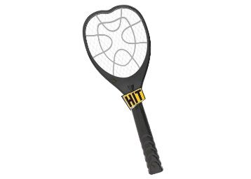 HIT Anti Mosquito Racquet - Rechargeable Insect Killer Bat with LED Light (6 Months Warranty) at Rs. 399