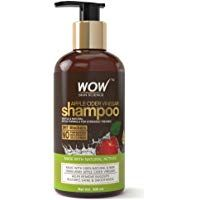 WOW Apple Cider Vinegar No Parabens & Sulphate Shampoo, 300mL at Rs. 334