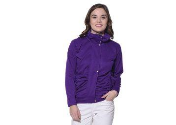 Min. 70% off on Purys Purple Winter Fleece Jacket at Rs. 349