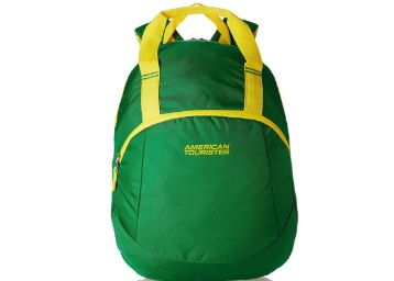 Flat 60% off on American Tourister 13 Ltrs Green Backpack at Rs. 519