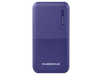 Flat 60% off on Ambrane 10000mAh Lithium Polymer Power Bank at Rs. 599