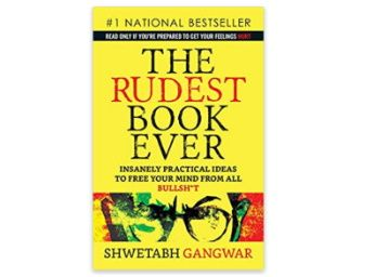 Flat 29% off on The Rudest Book Ever at Rs. 213