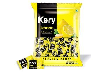 Kery Lemon Candy (Pack of 2) 480g [Nimbu Lime Bomb Toffee] at Rs. 169