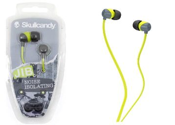 Flat 31% off on Skullcandy Jib Wired In-Earphone without Mic at Rs. 549
