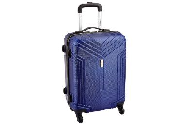 Flat 76% off on KILLER ABS 58 cms Dark Blue Hardsided Cabin Luggage at Rs. 1420