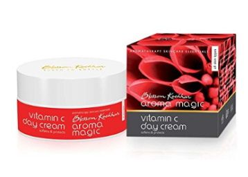 FLat 50% off on Aroma Magic Vitamin C Day Cream, 50g at Rs. 187