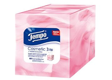 Tempo Facial Tissue Cosmetic Box 3Ply - 60 Pulls at Rs. 99