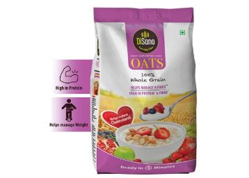 DISANO Oats, High in Protein & Fibre, 1.5 Kg at Rs. 159