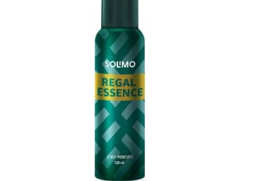 Amazon Brand - Solimo Regal Essence No Gas Body Perfume For Men, 120 ml at Rs. 109