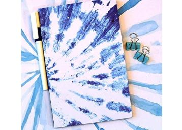 Flat 50% off on Doodle Floral Shibori Semi Hard Bound Notebook (5.5 X 8.5 Inches, 80 GSM, 160 Pages with Pen Loop) at Rs. 245