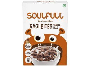 Flat 60% off on Soulfull Ragi Bites, Vanilla Fills, 250g at Rs. 67