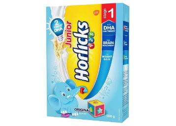 Junior Horlicks Stage 1 (2-3 years) Health and Nutrition drink - 500 g Refill pack at Rs. 255
