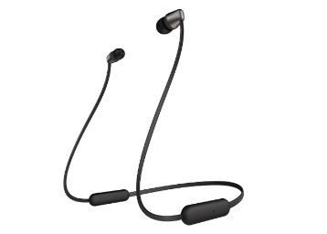 Sony WI-C310 Wireless Bluetooth in-Ear Headphones with Mic, 15 Hours Battery Life, Quick Charge, Magnetic Earbuds at Rs. 2290