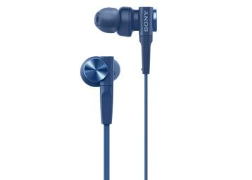 Sony MDR-XB55 Extra-Bass in-Ear Headphones Without Mic (Blue) at Rs. 1299