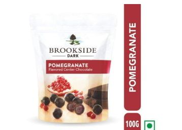 Brookside Flavored Center Chocolate - Pomegranate Pouch, 3 X 100 g at Rs. 199