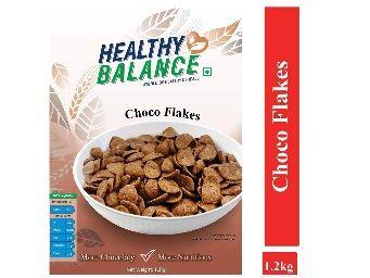 Healthy Balance Choco Flakes 1.2kg At Rs.299