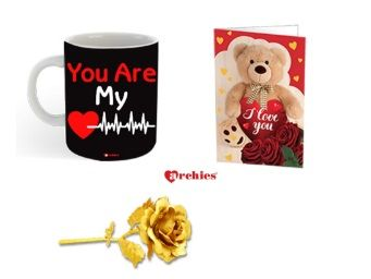 Archies Love Valentines Printed Ceramic Coffee At Rs.399
