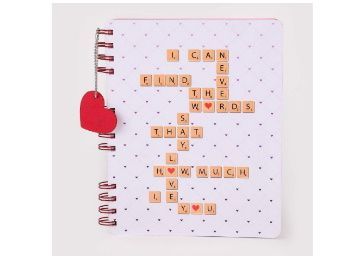 Doodle Love Confessions Notebook Diary (8.5 X 6.5 inches 80 GSM,160 Pages) Perfect Valentine