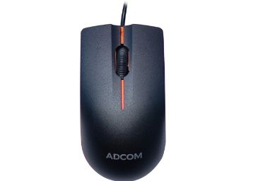 Flat 50% off - Adcom AD-12526 USB Wired 3D Optical Mouse at Rs. 150