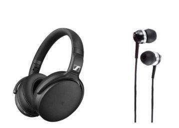 74% Claimed - Sennheiser 4.5 BT SE ANC + Sennheiser CX 1.0 Earphone at Rs. 7490