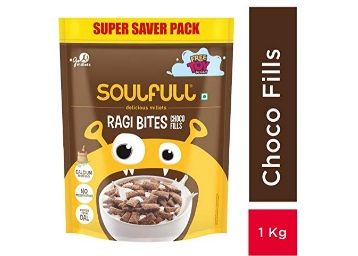 Soulful Ragi Bites with Choco Fills Combo Pack, 1kg At Rs.250