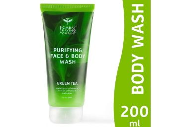 Apply Coupon  - Bombay Shaving Company Purifying Face & Body Wash with Green Tea extracts and Antioxidants for the skin - 200 ml at Rs. 197