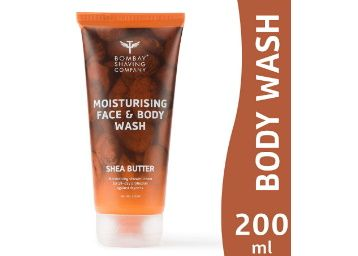 Apply Coupon - Bombay Shaving Company Moisturising Face & Body Wash with gentle, rich and healing Shea Butter for Dry Skin - 200 ml at Rs. 197