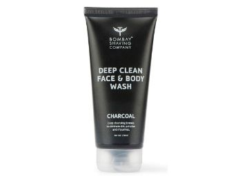 Apply Coupon - Bombay Shaving Company Activated Charcoal Face & Body Wash for removing dirt and impuritities with Anti-Pollution Effect - 200 ml at Rs. 189